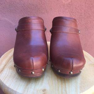 UGG Shoes - Ugg Australia Jolene leather clogs